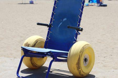 Accesso in spiaggia per i disabili