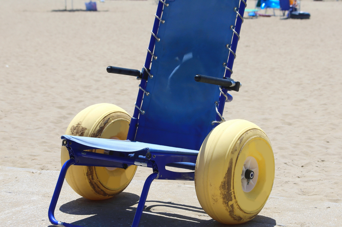 Spiaggia di Torre Canne: entro l'estate a prova di disabile