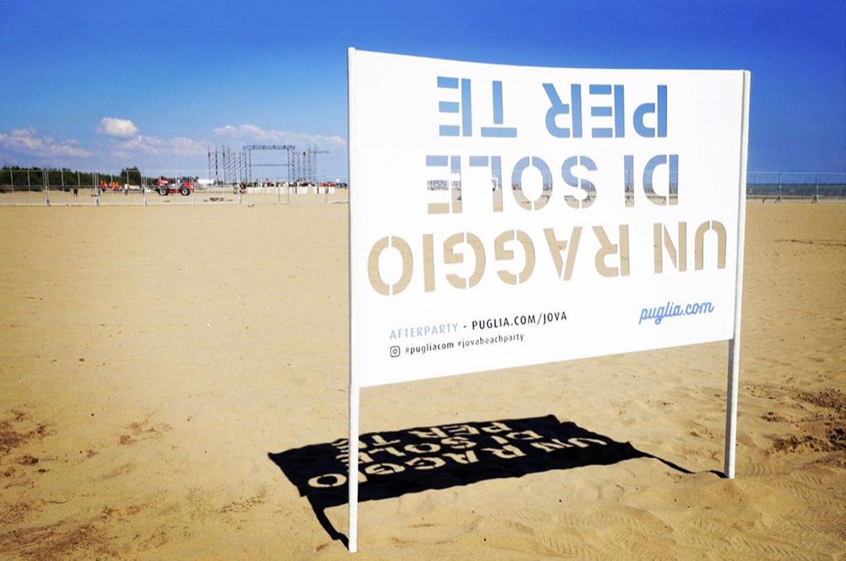Un raggio di sole per te, Puglia.com omaggia il Jova Beach Party