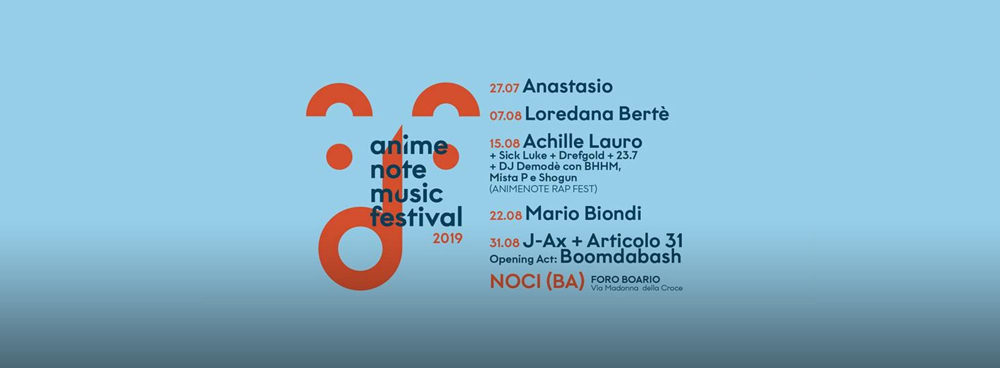 Noci: Anime Note Music Festival