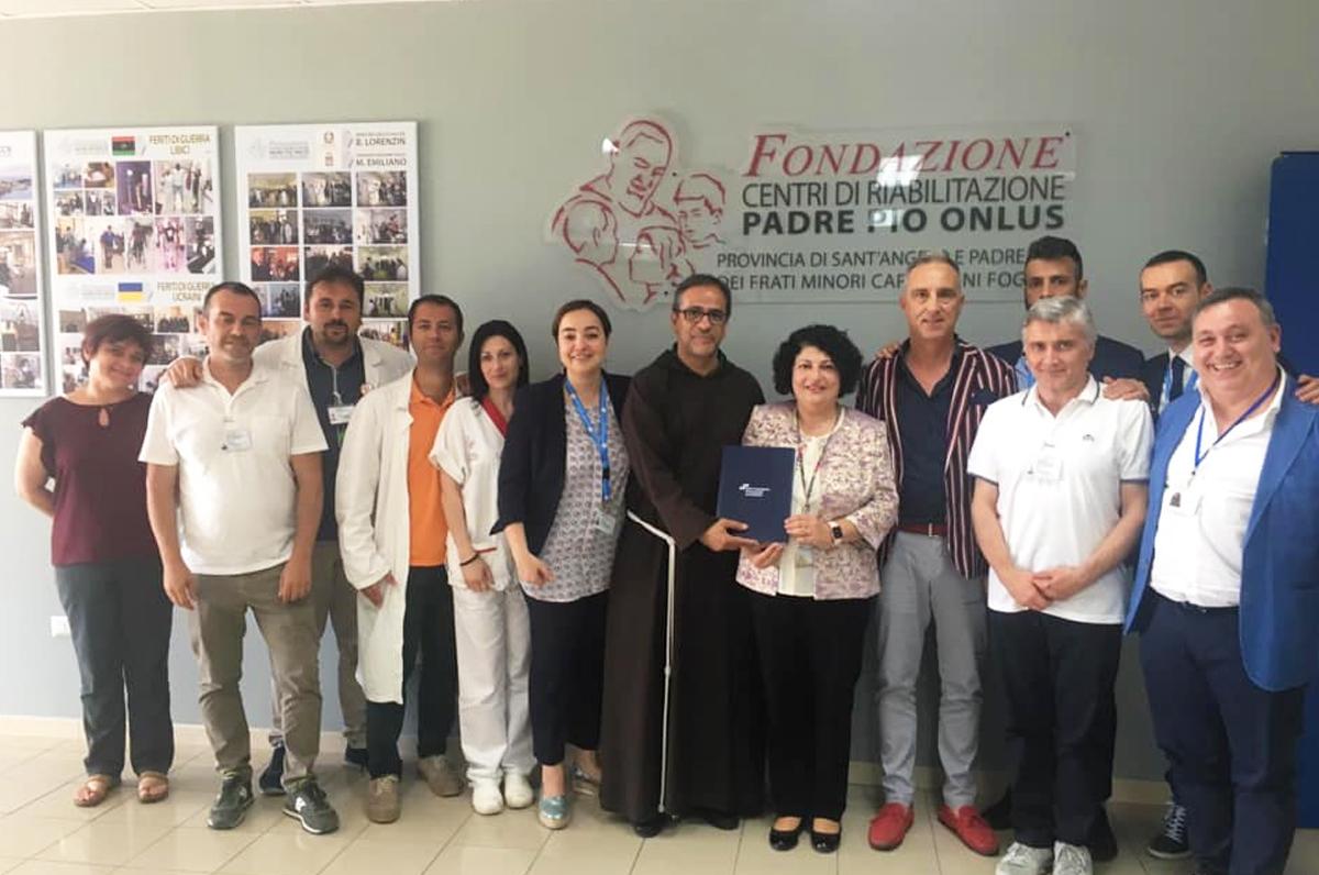Gli Angeli di Padre Pio, prima struttura riabilitativa in Italia dal riconoscimento mondiale