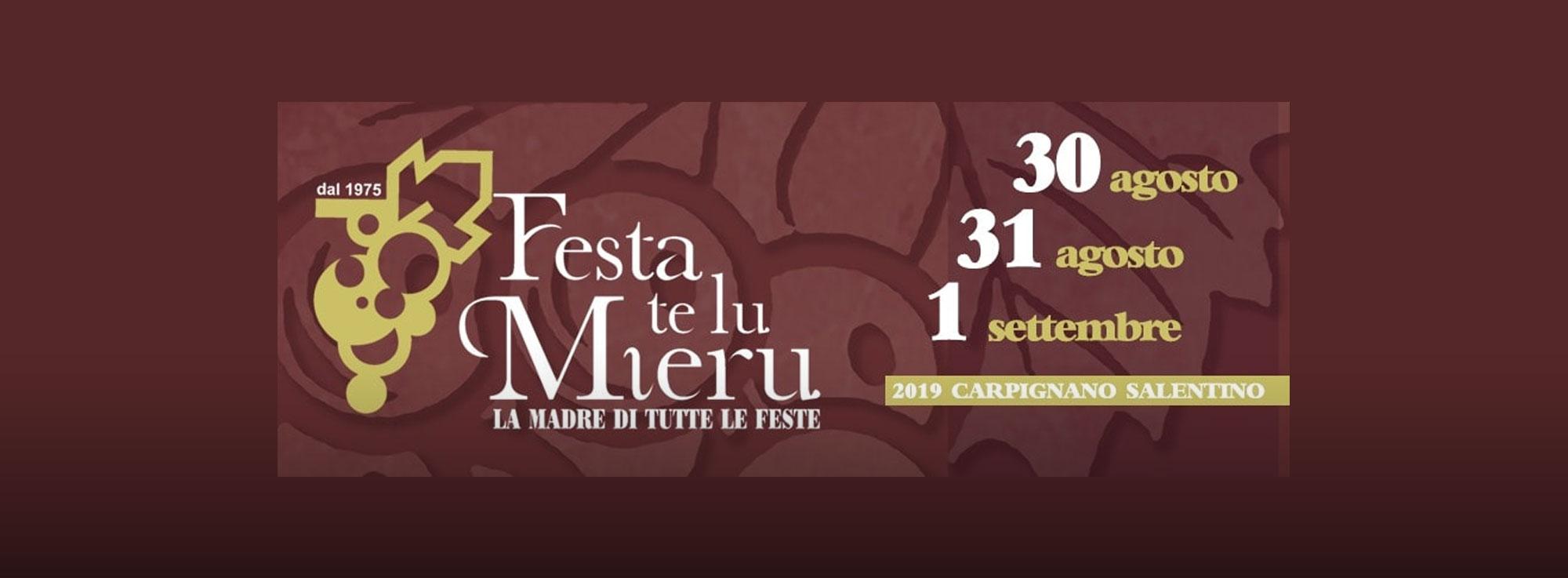 Carpignano Salentino: Festa Te lu Mieru
