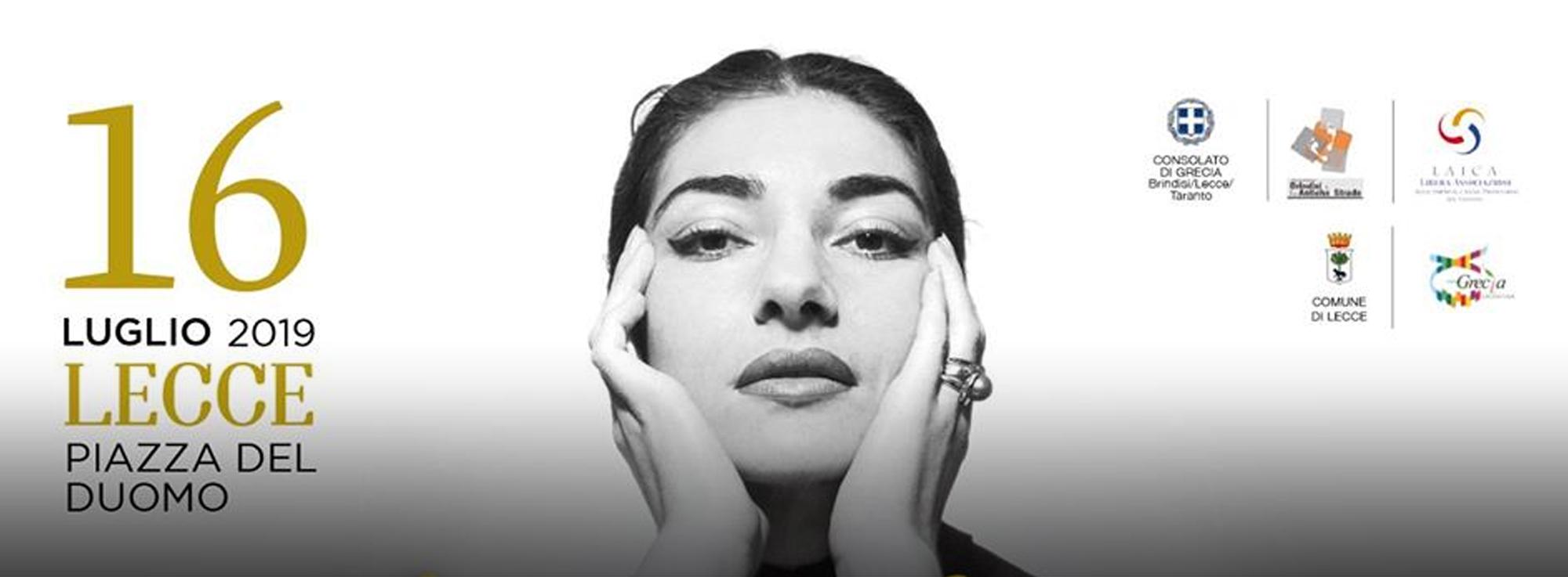 Lecce: Maria Callas – La voce immortale che dal Mediterraneo unisce il mondo