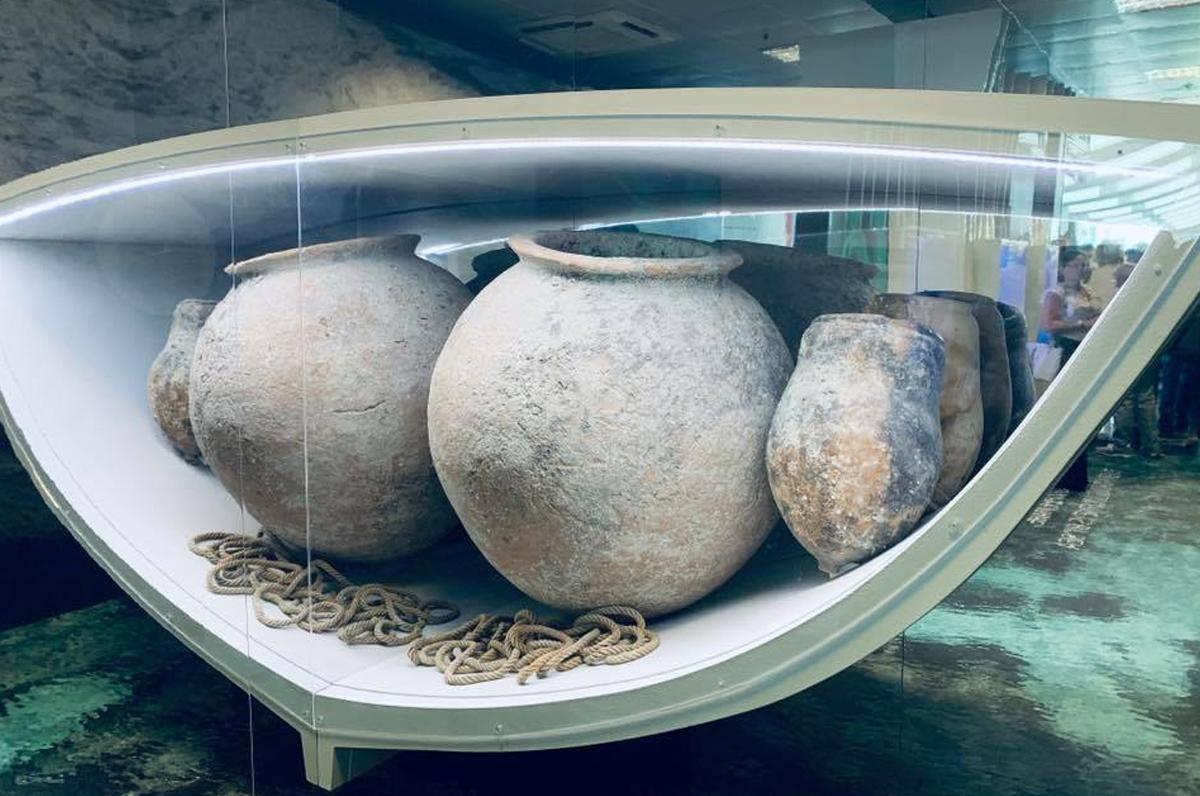 Aeroporto di Brindisi, mostra su archeologia subacquea e mar Adriatico
