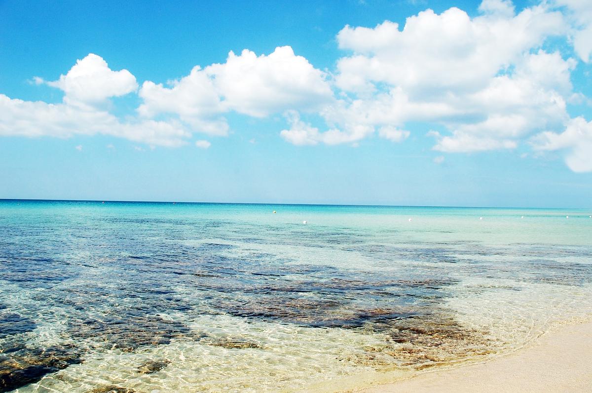 Le acque di Puglia sono tutte pulite e balneabili