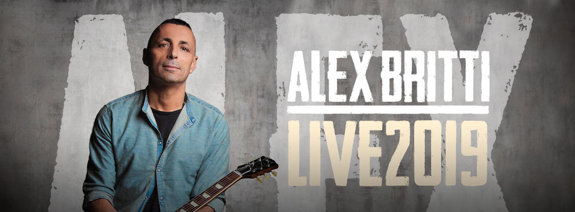 Presicce-Acquarica: Alex Britti live
