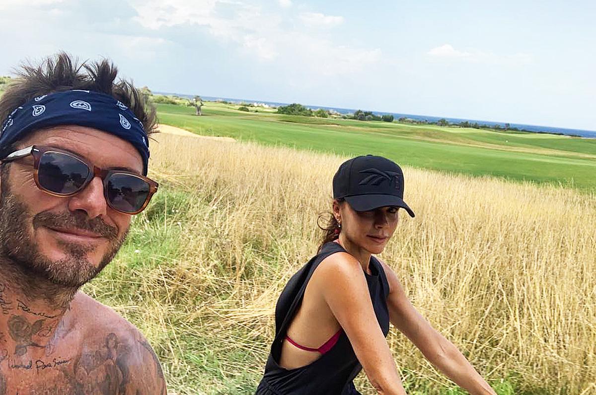 Beckham in vacanza in Puglia a Savelletri