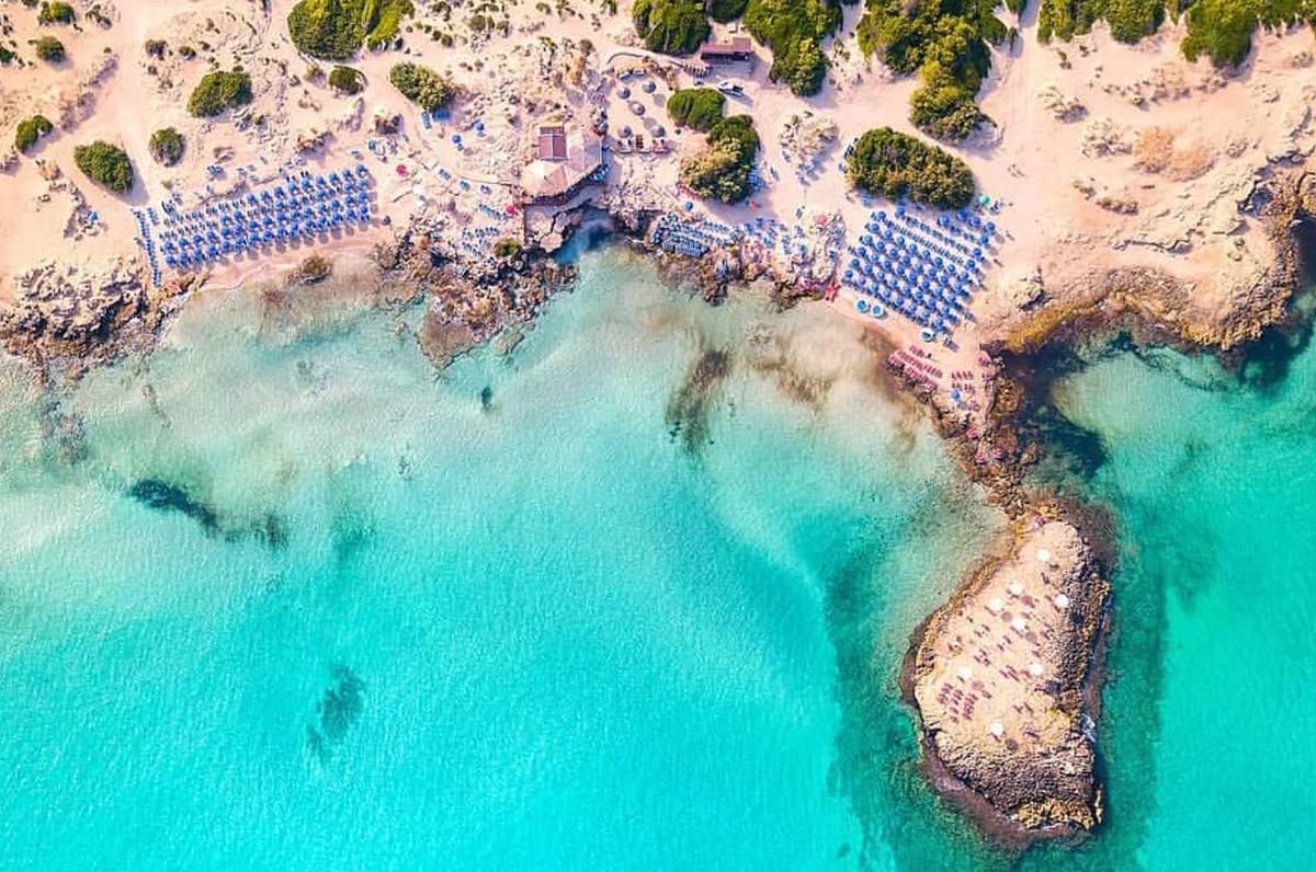 Punta della Suina, oasi di acqua limpida vicino Gallipoli