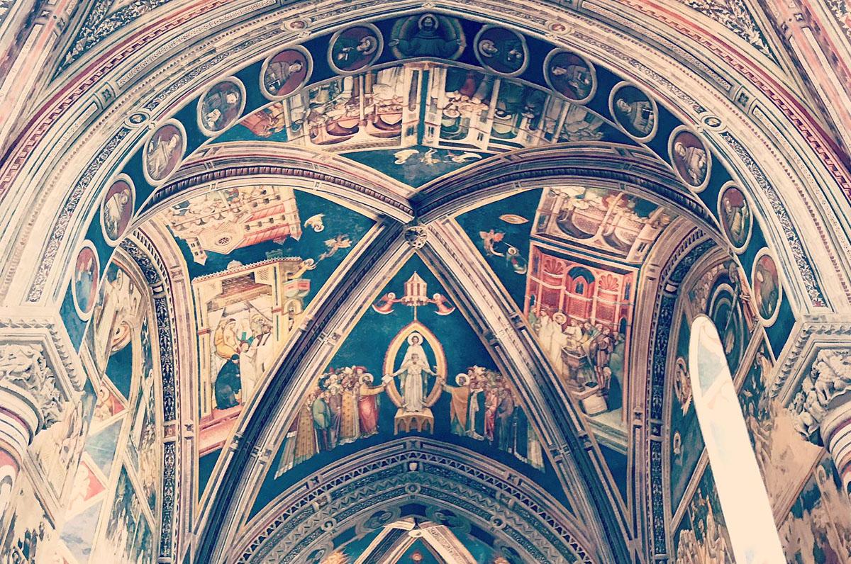 Basilica S. Caterina, singolari affreschi del '400 a Galatina