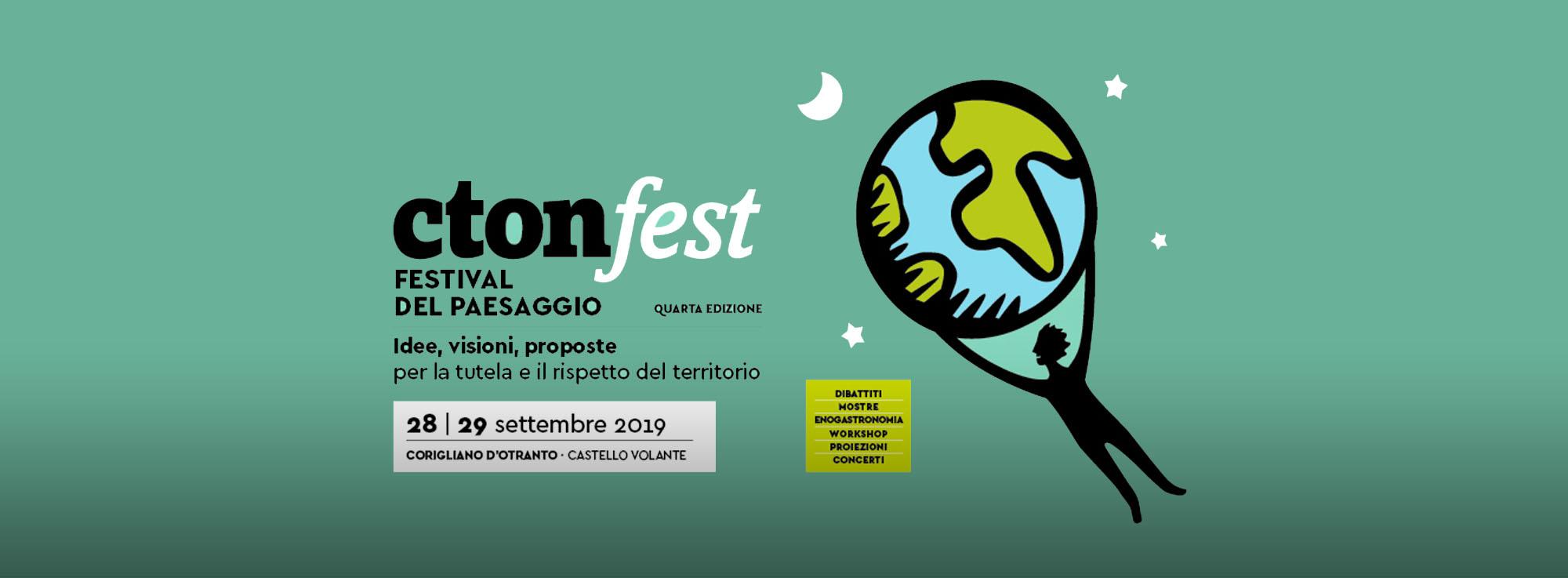 Corigliano d'Otranto: CtonFest - Festival del Paesaggio.