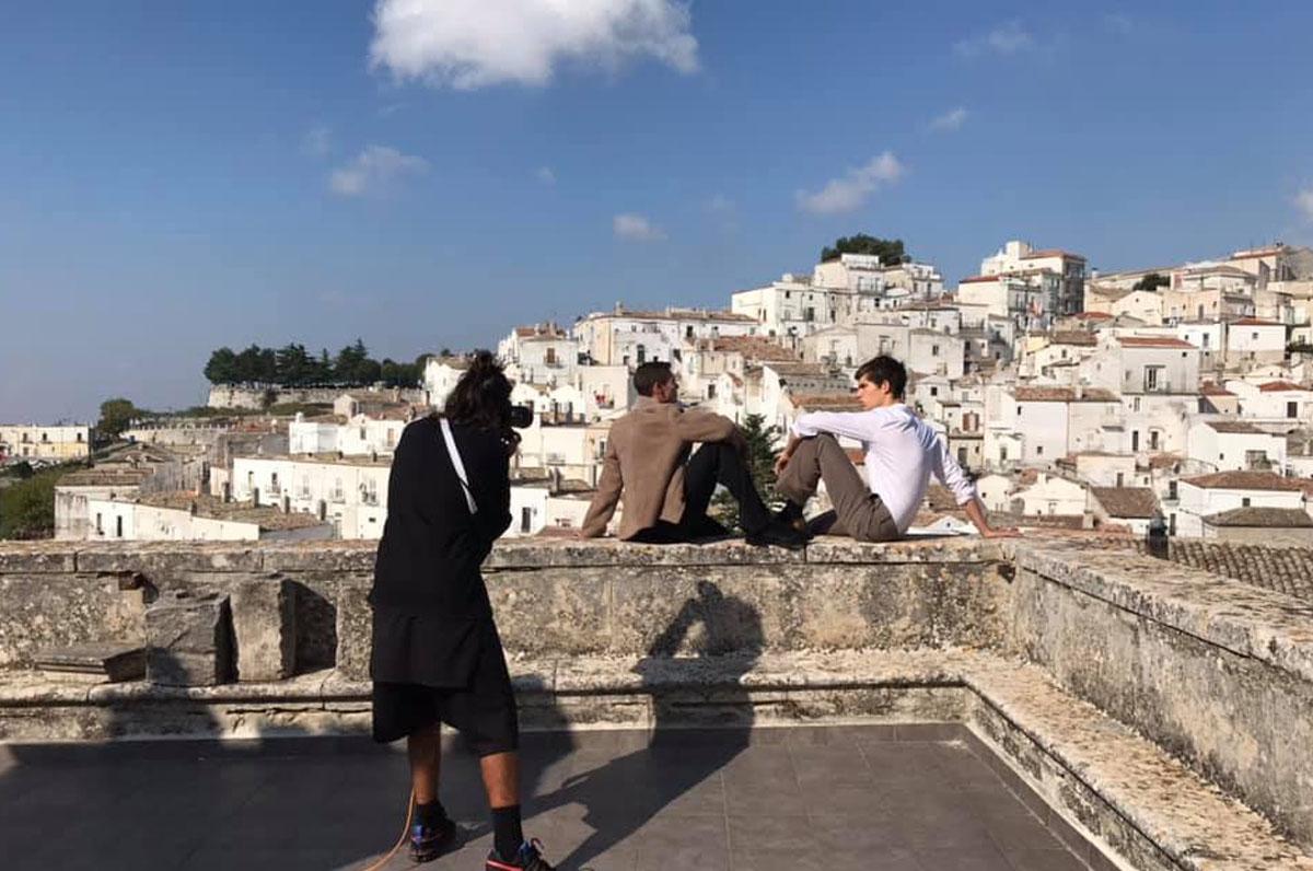 """Monte Sant'Angelo, set fotografico per la rivista """"L'Obs"""""""