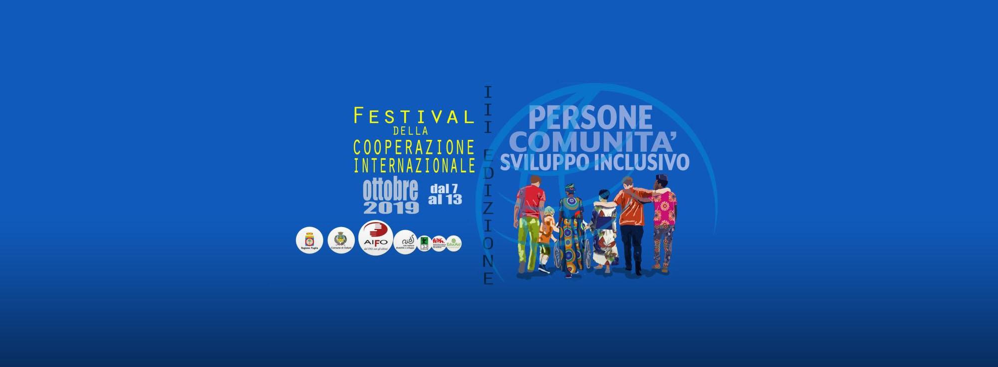 Ostuni, Taranto, Lecce: Festival della Cooperazione Internazionale