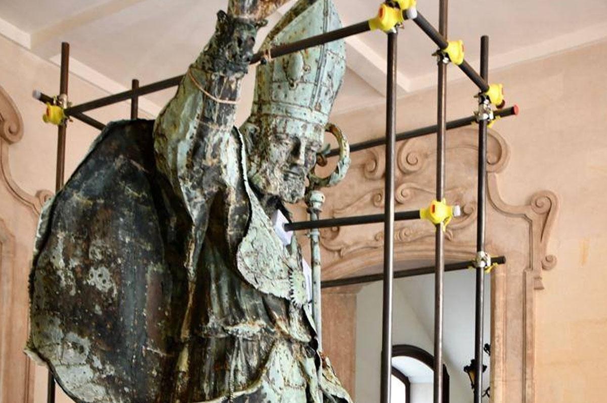 Lecce, la statua di Sant'Oronzo sarà posta in un museo