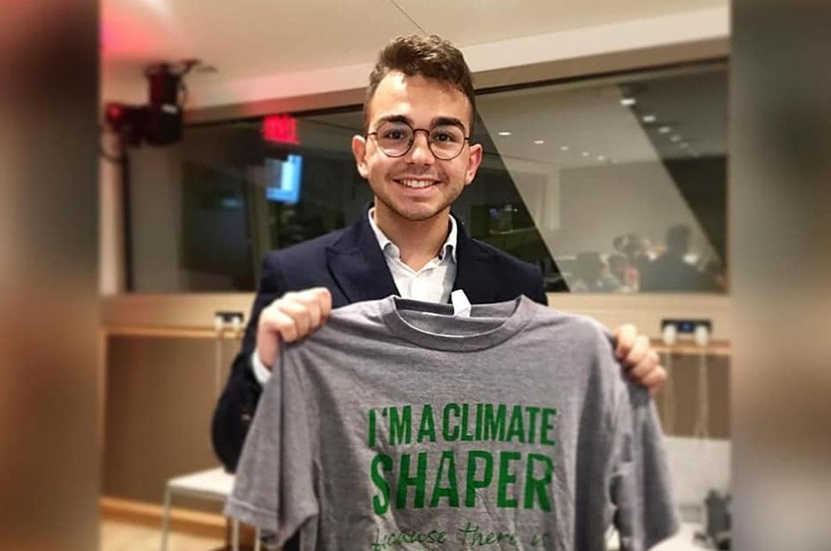 Ruggiero, a 19 anni un progetto per la difesa dell'ambiente