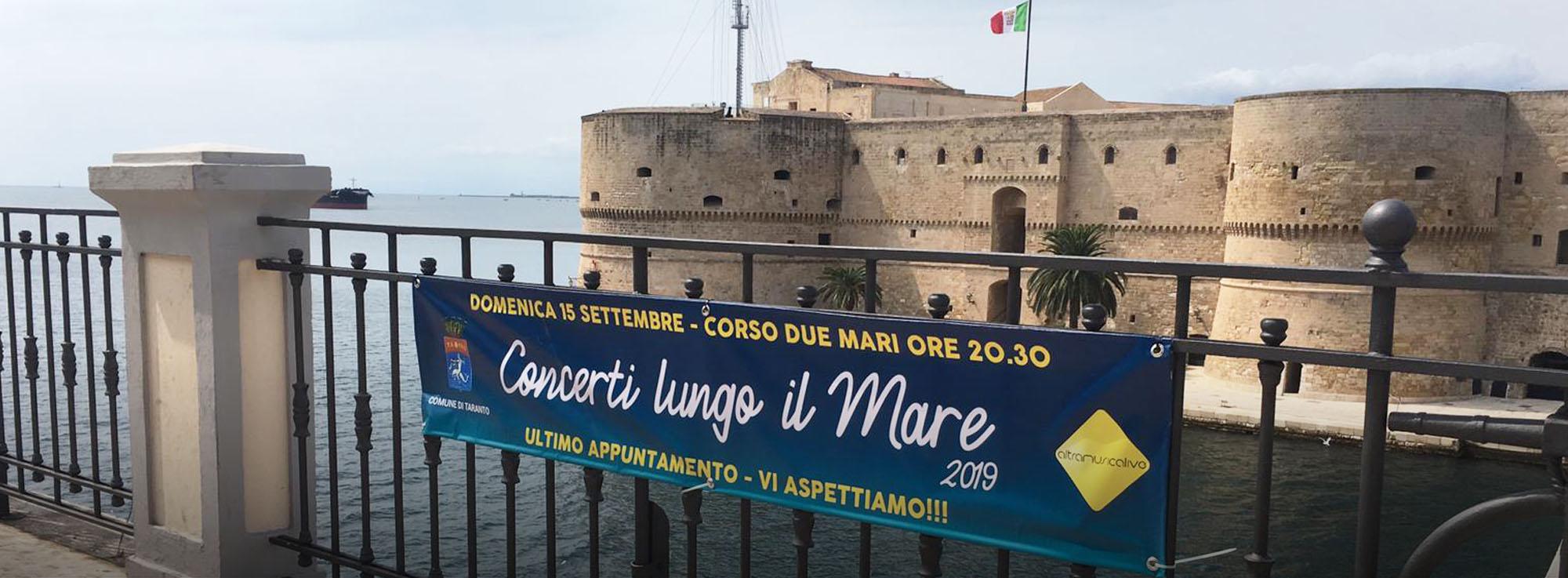Taranto: Concerti Lungo il Mare - serata di chiusura