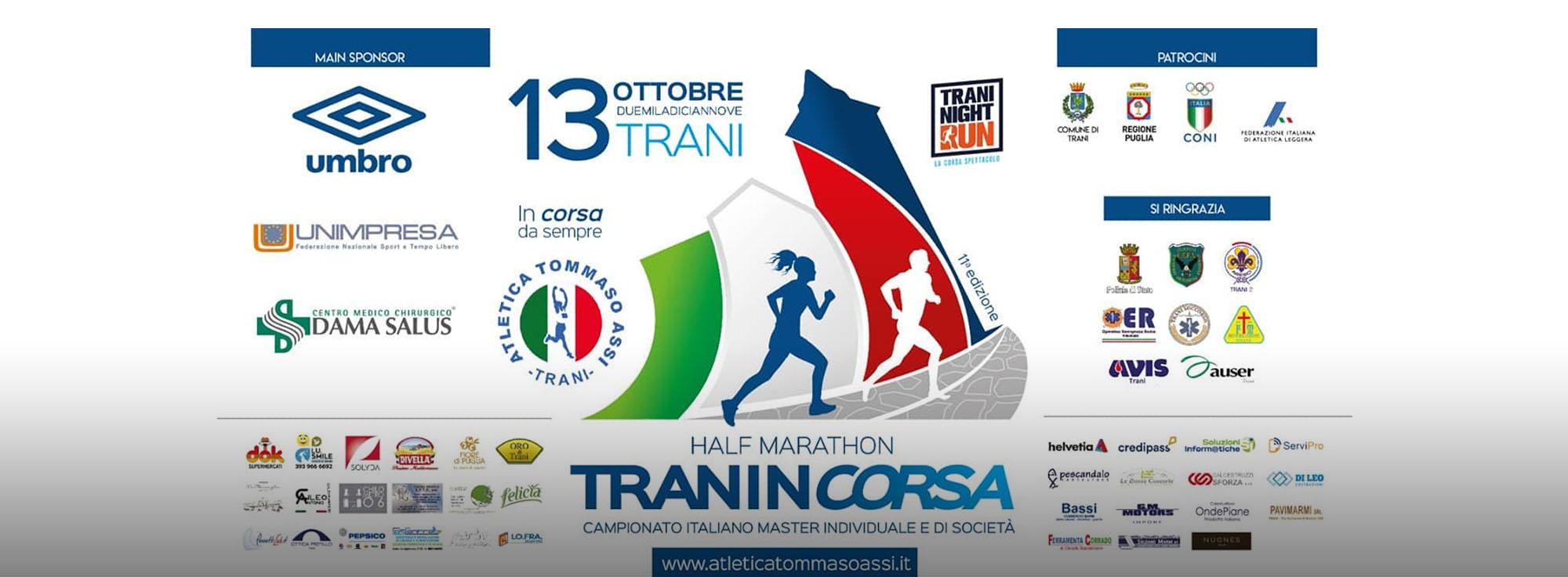 Trani: Tranincorsa 'Tommaso Assi Half Marathon'