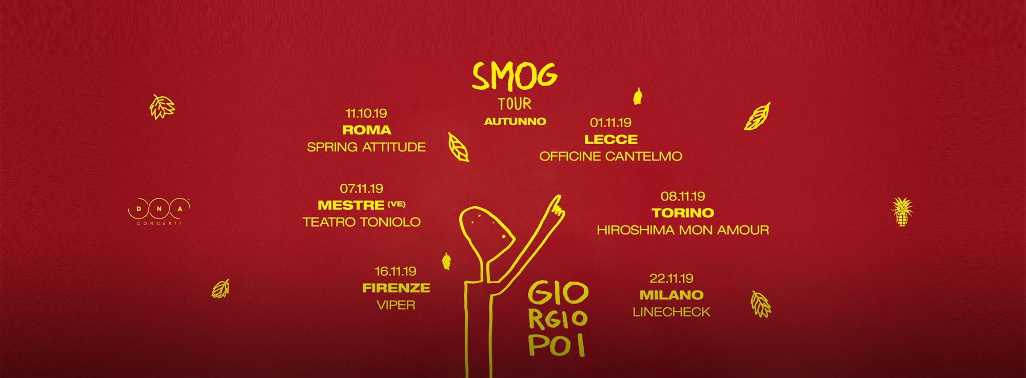 Lecce: Smog Tour - Giorgio Poi
