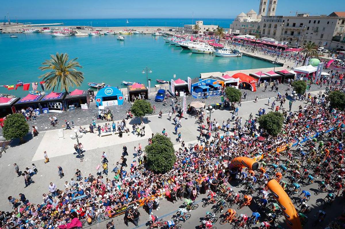 È ufficiale: il Giro d'Italia 2020 tornerà in Puglia