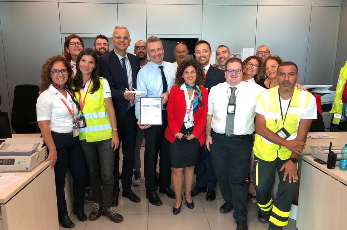 Lufthansa premia l'aeroporto di Brindisi come regina degli scali