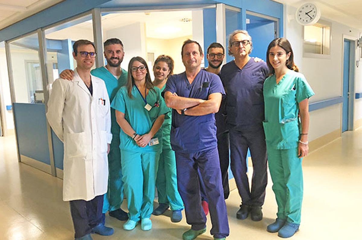 """""""Miulli"""", ad Acquaviva intervento laparoscopico con tecnica HIPEC"""