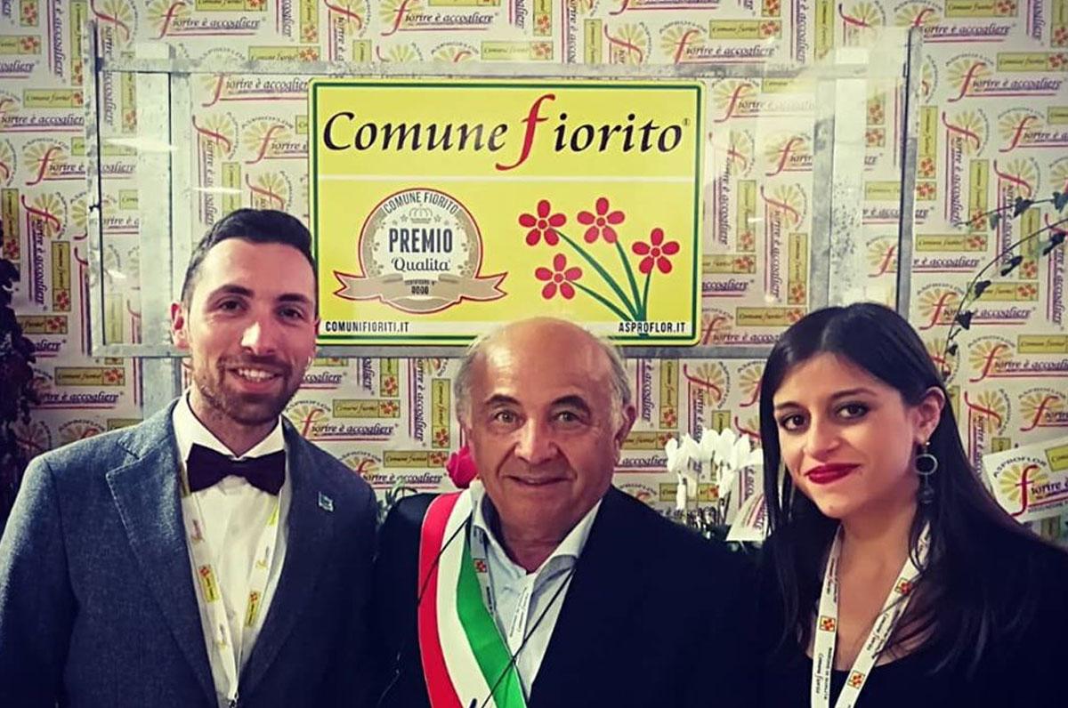 """Orsara di Puglia tra i """"Comuni Fioriti d'Italia"""""""
