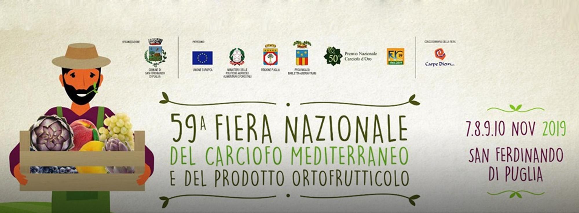 San Ferdinando di Puglia: Fiera nazionale del carciofo e del Prodotto Ortofrutticolo