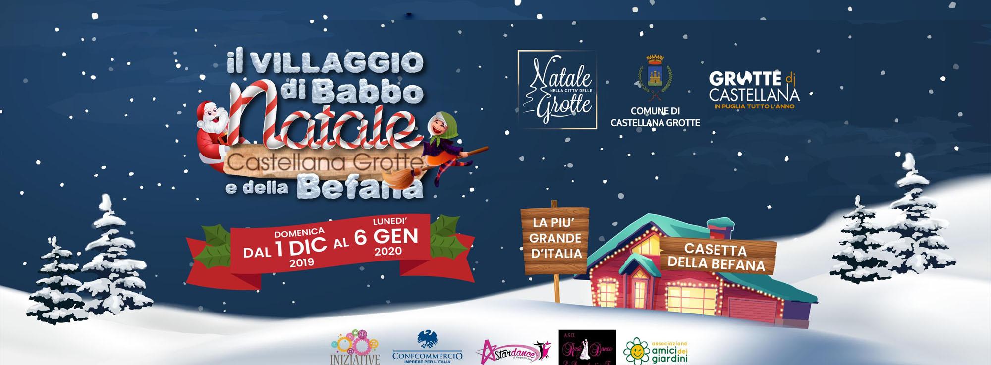 Castellana Grotte: Il Villaggio di Babbo Natale