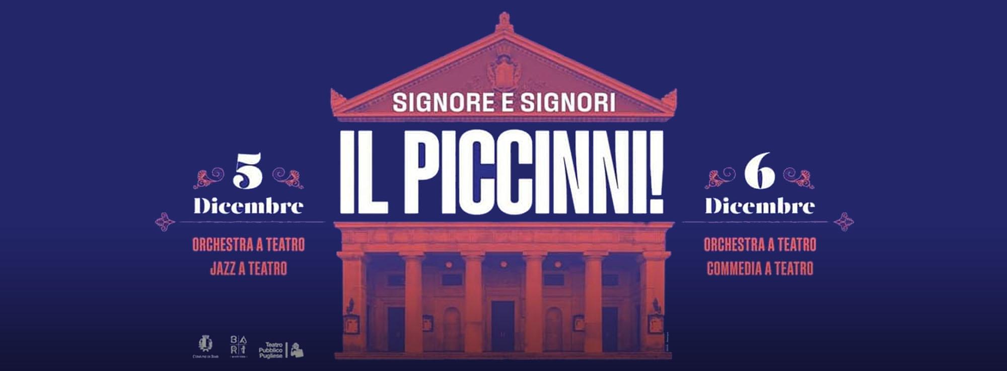 Bari: Riapertura Teatro Piccinni
