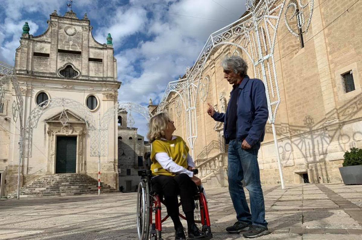 """Sergio Rubini racconterà Gravina in Puglia su """"Geo"""""""