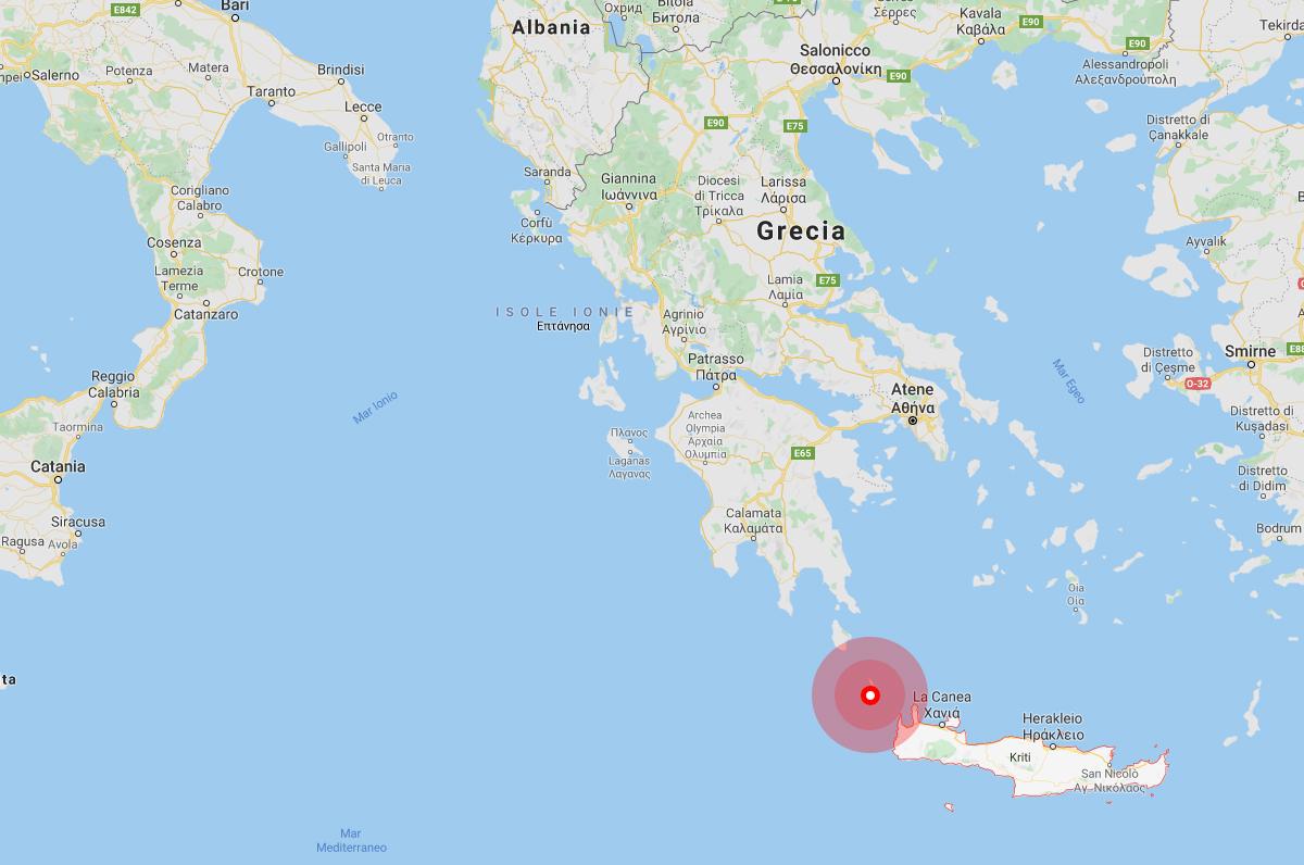 Terremoto a Creta, anche oggi la Puglia continua a tremare