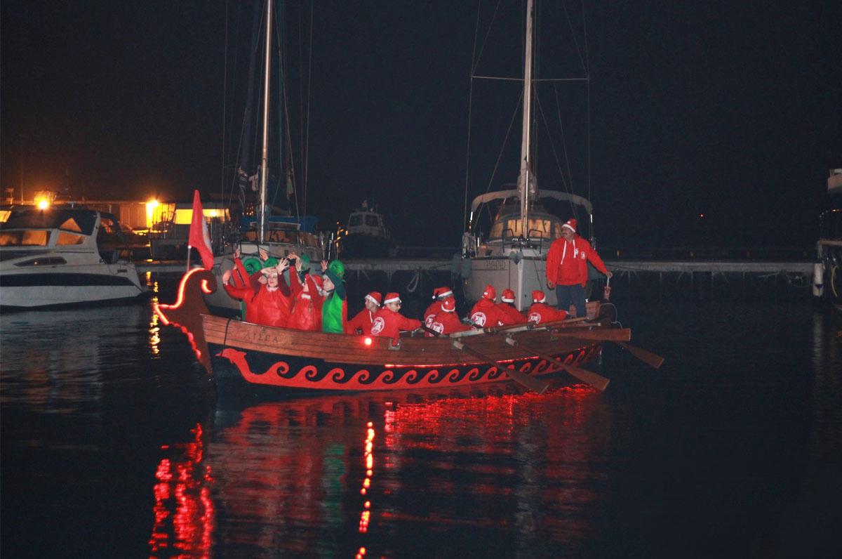 Il villaggio di Babbo Natale sul mare