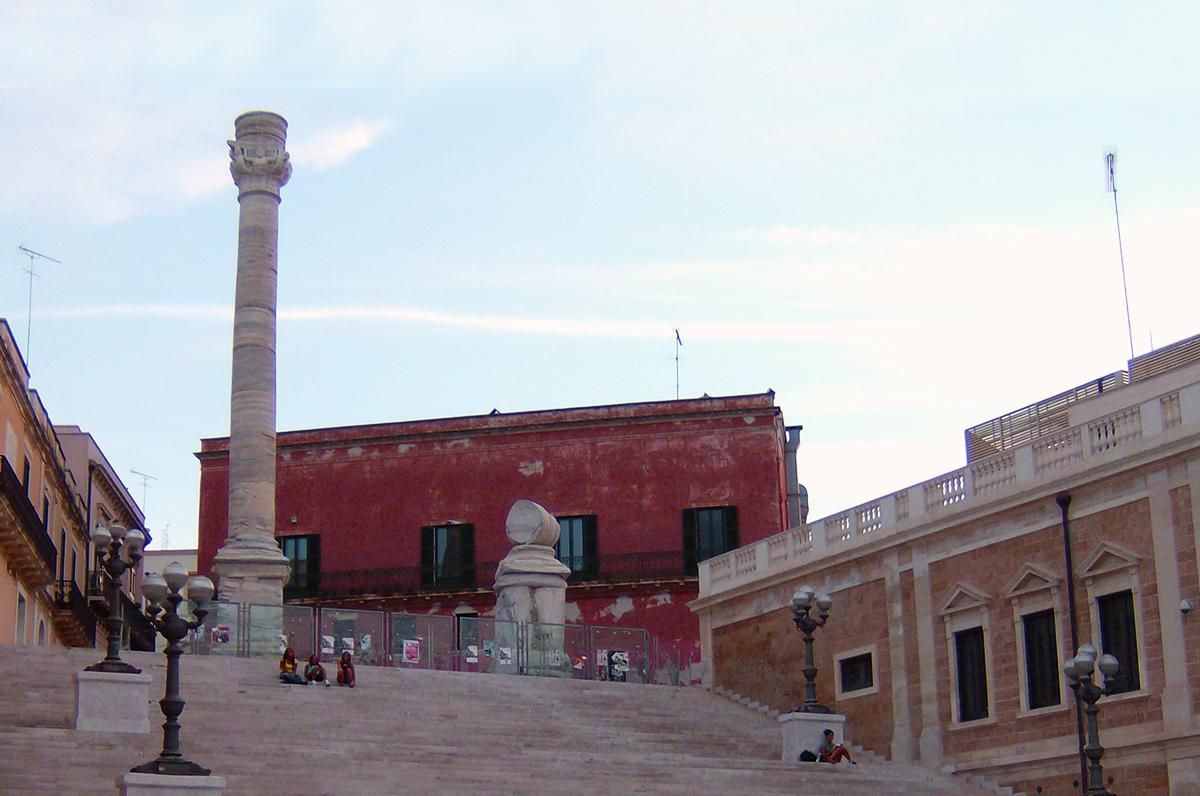 Colonne romane di Brindisi, meraviglia architettonica dell'antichità