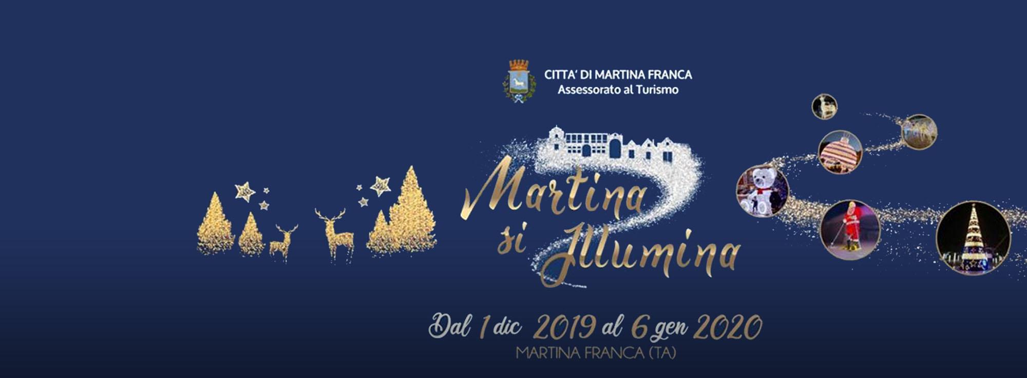 Martina Franca: Martina si illumina