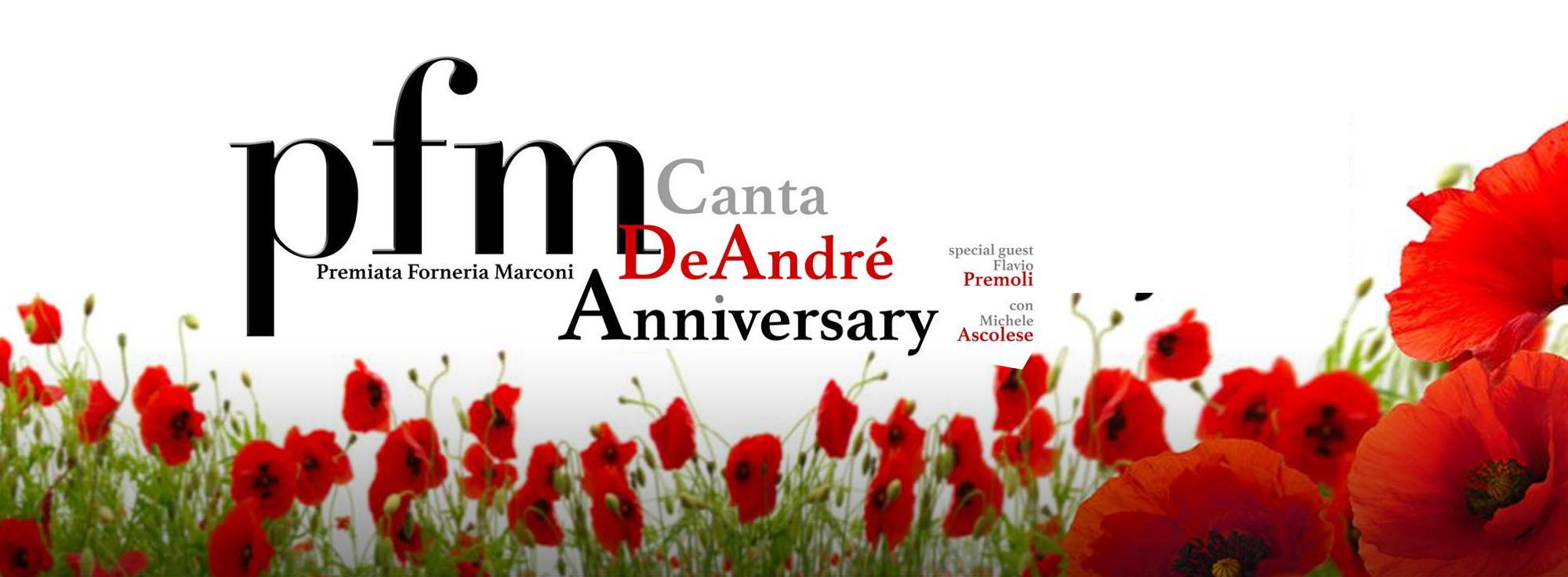 Lecce: PFM canta De André - Anniversary