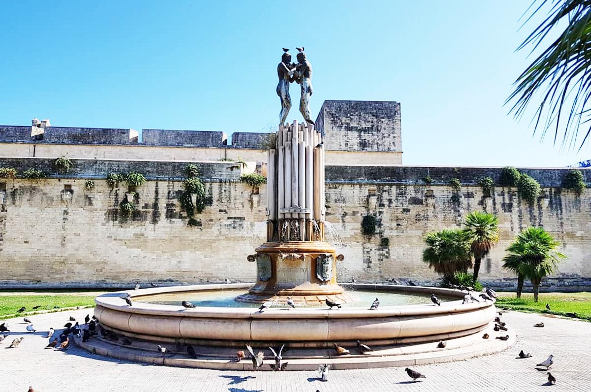 Fontana degli Innamorati di Lecce