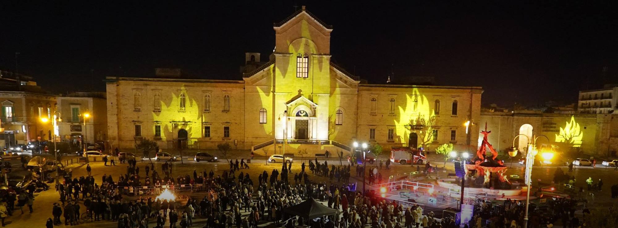 Giovinazzo : Fuochi di Sant'Antonio