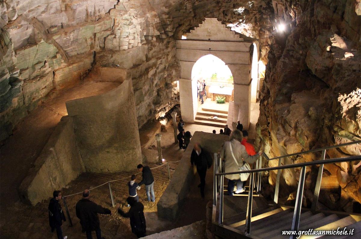 Grotta di San Michele, il culto micaelico di Minervino Murge