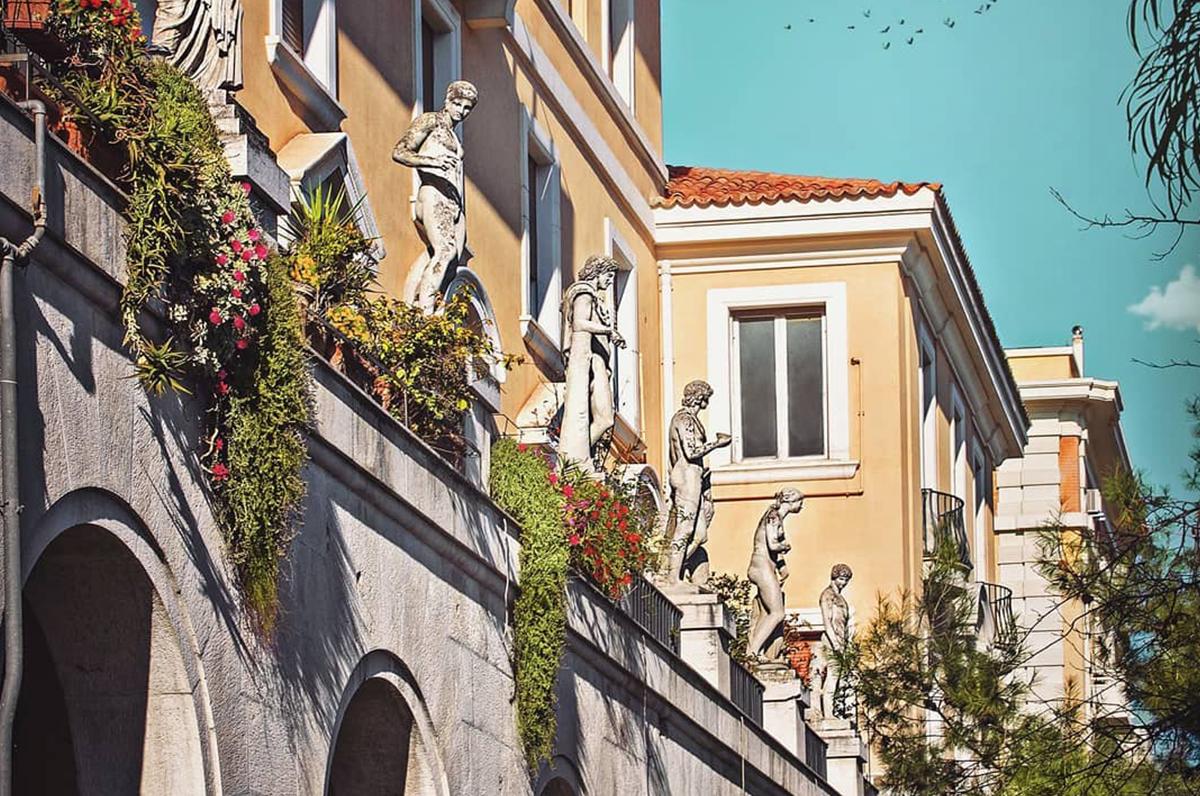 Palazzo delle Statue, edificio romano in pieno centro a Foggia
