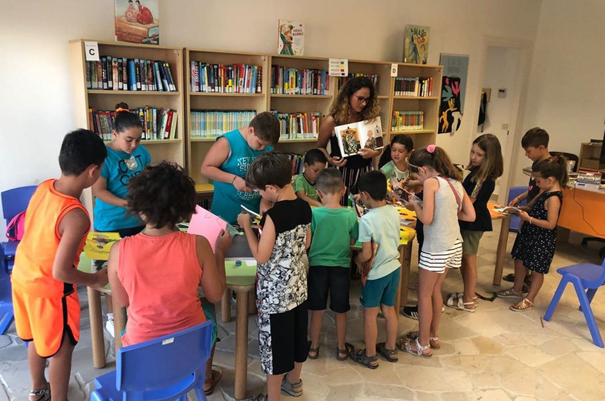 iniziative della biblioteca di Barletta