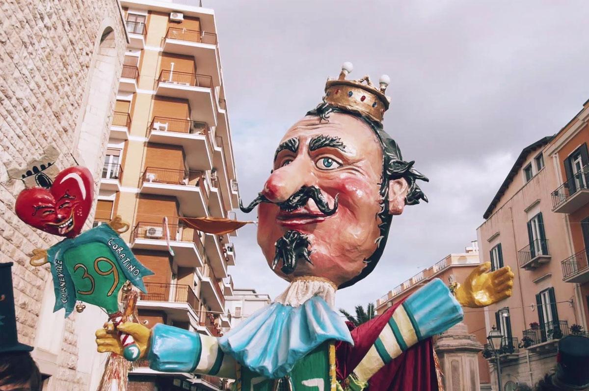 Carnevale Coratino, antica tradizione ottocentesca