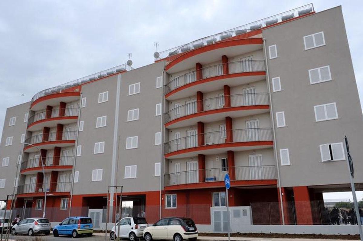 edilizia pubblica di Puglia
