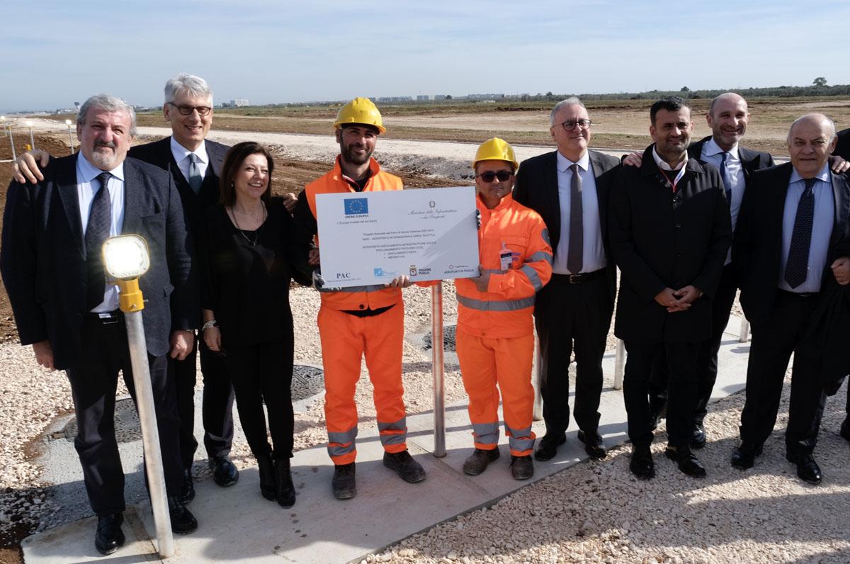 L'aeroporto di Bari si apre ai voli intercontinentali