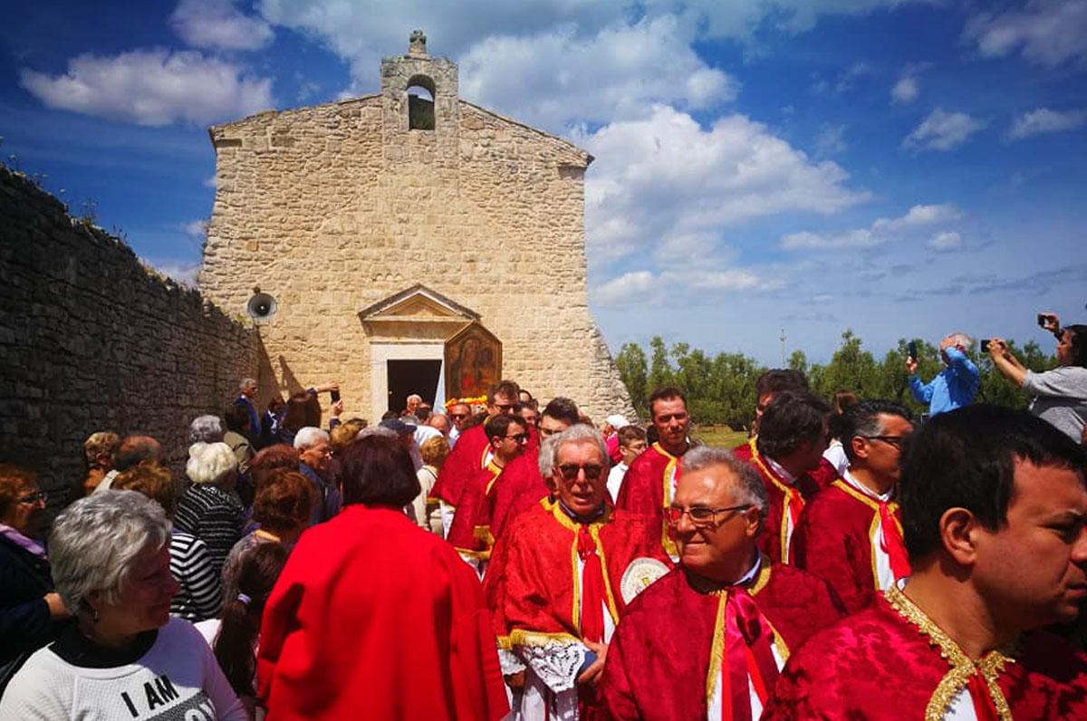 Casale di Zappino, chiesa millenaria vicino Bisceglie