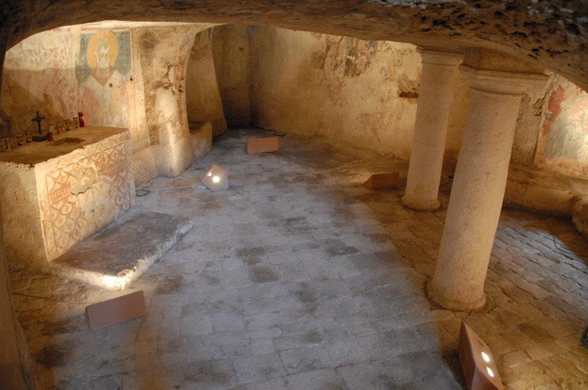 cripta del crocifisso Ugento