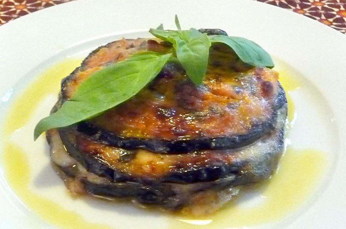 melanzane mozzarella caciocavallo