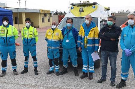 coronavirus, aiuti pugliesi a Brescia