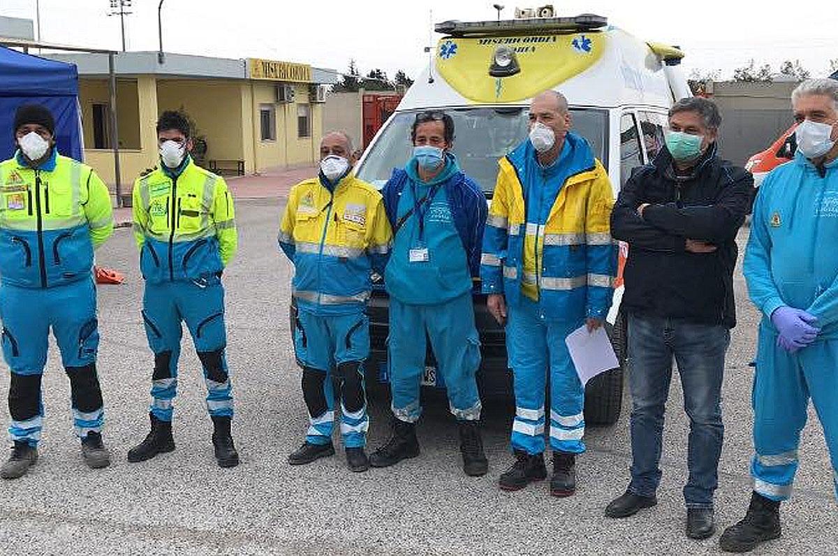 Coronavirus, partiti dalla Puglia aiuti per Brescia