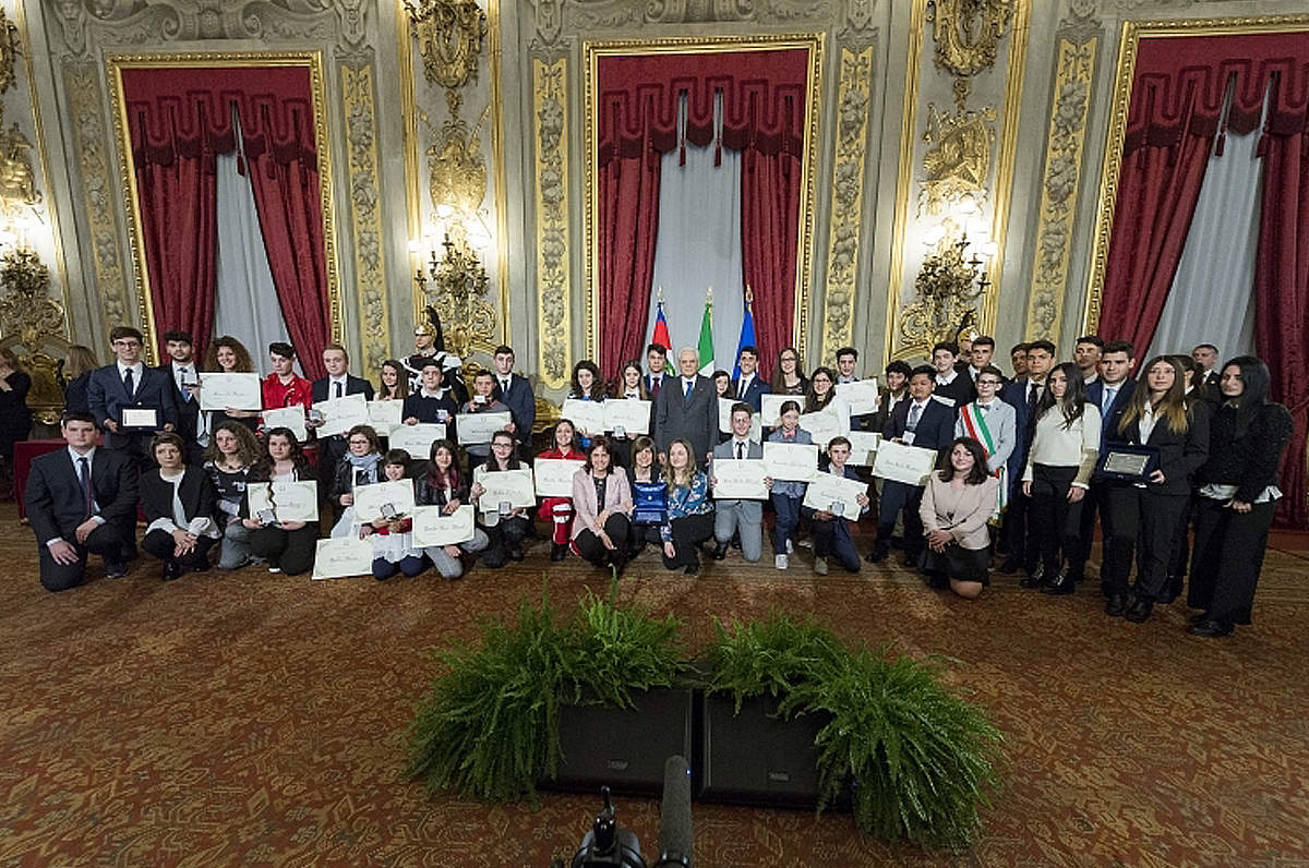 Alfieri della Repubblica, in Puglia premio a ragazzi di 11 e 14 anni