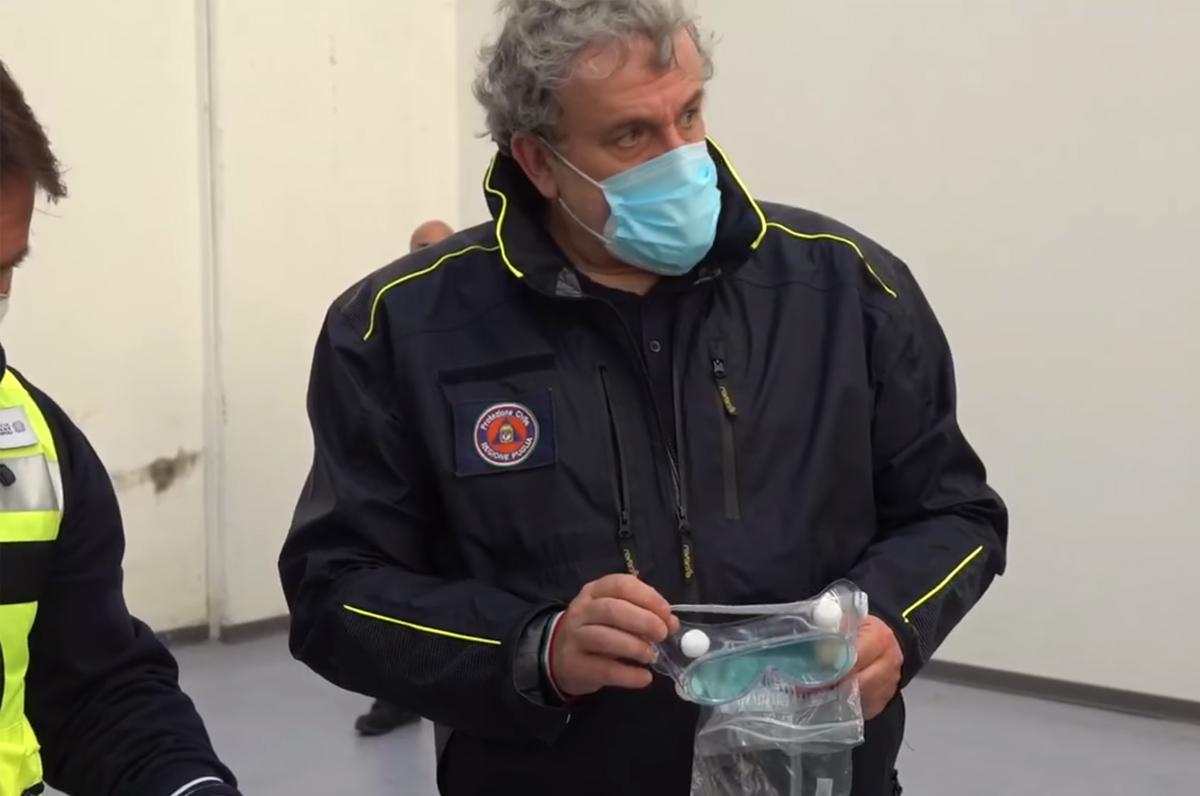 Coronavirus, in Puglia arrivate 50 tonnellate di Dpi