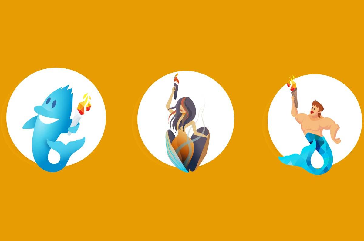 Giochi Mediterraneo Taranto 2026, presentate le 3 mascotte